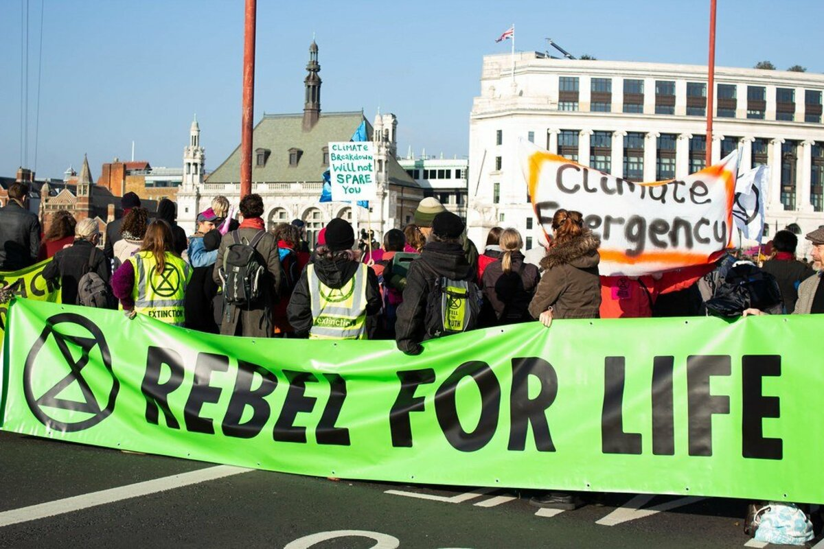 Should Lenders Take Precautions Against Organisations Like Extinction Rebellion?